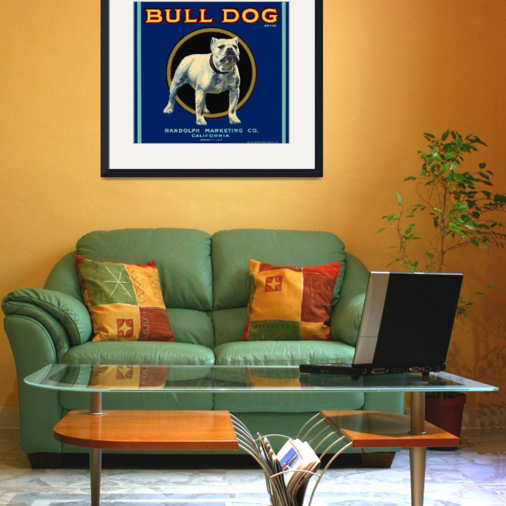 """Bull Dog&quot  (2010) by dalidayna"