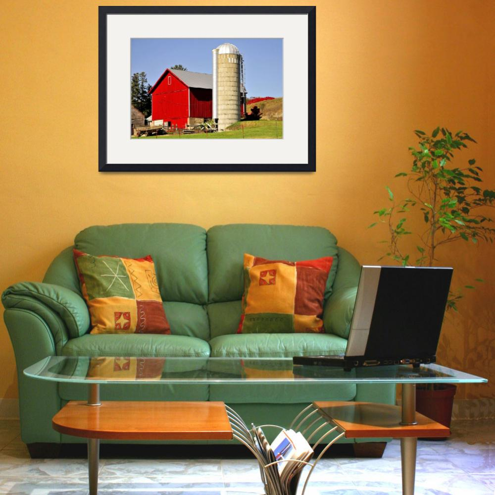 """""""Barn & Silo&quot  (2015) by doncon402"""