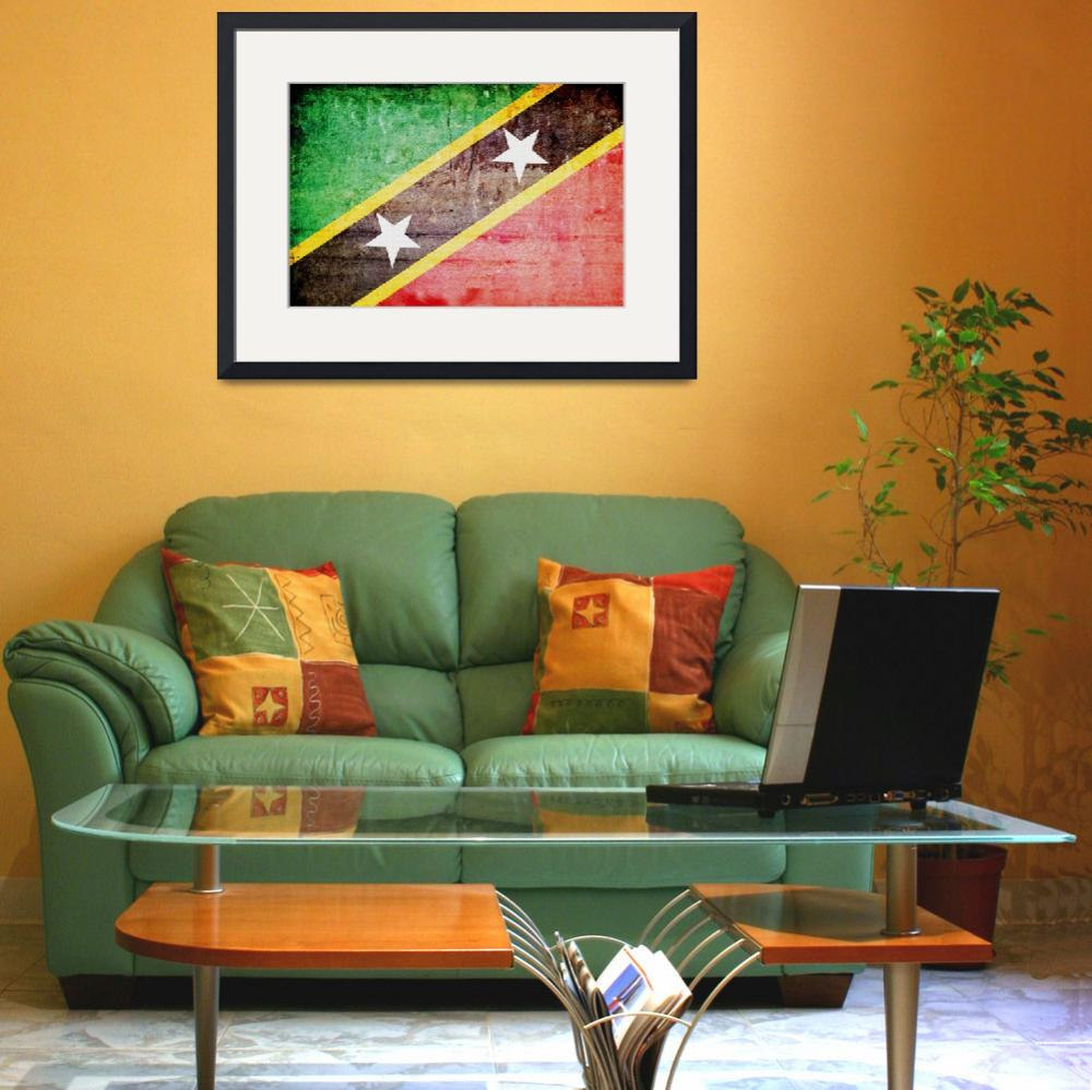 """""""Saint Kitts and Nevis-3&quot  (2014) by thegriffinpassant"""