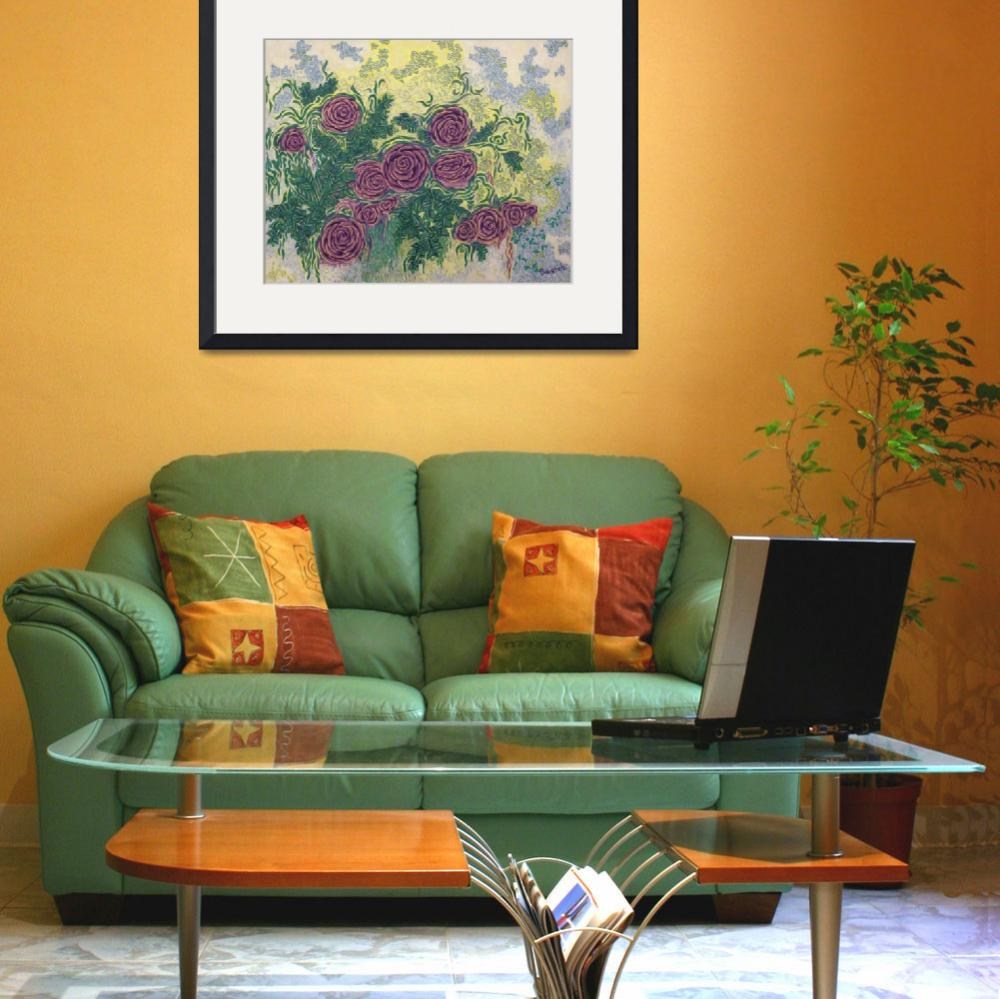 """""""Fine Art Prints Rose Wall Art Roses Flowers Deco&quot  (2008) by BasleeTroutman"""