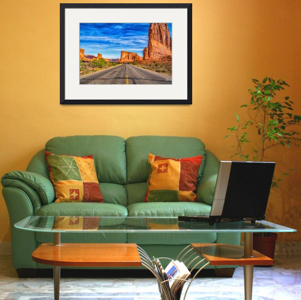 """63611 Tower of Babel Arches National Park&quot  by GestaltImagery"