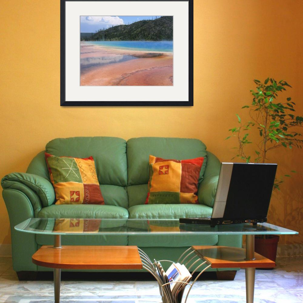 """""""Grand Prismatic Pool&quot  (2006) by ConnersCreations"""