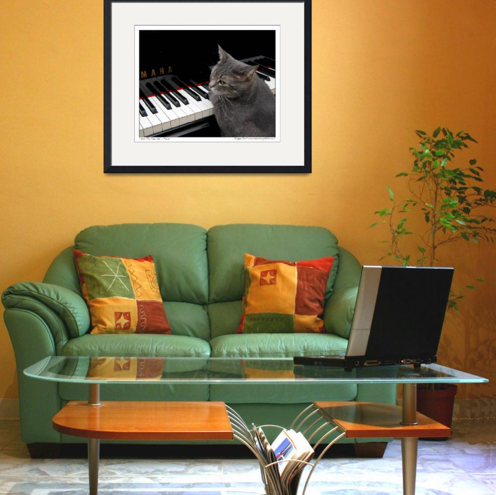 """""""Nora The Piano Cat™ - n0013&quot  (2008) by ravenswingstudio"""