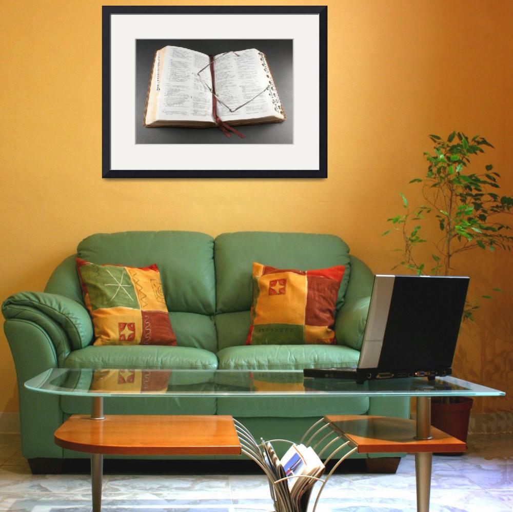 """""""Bible and Glasses&quot  (2008) by BonitaPhoto"""