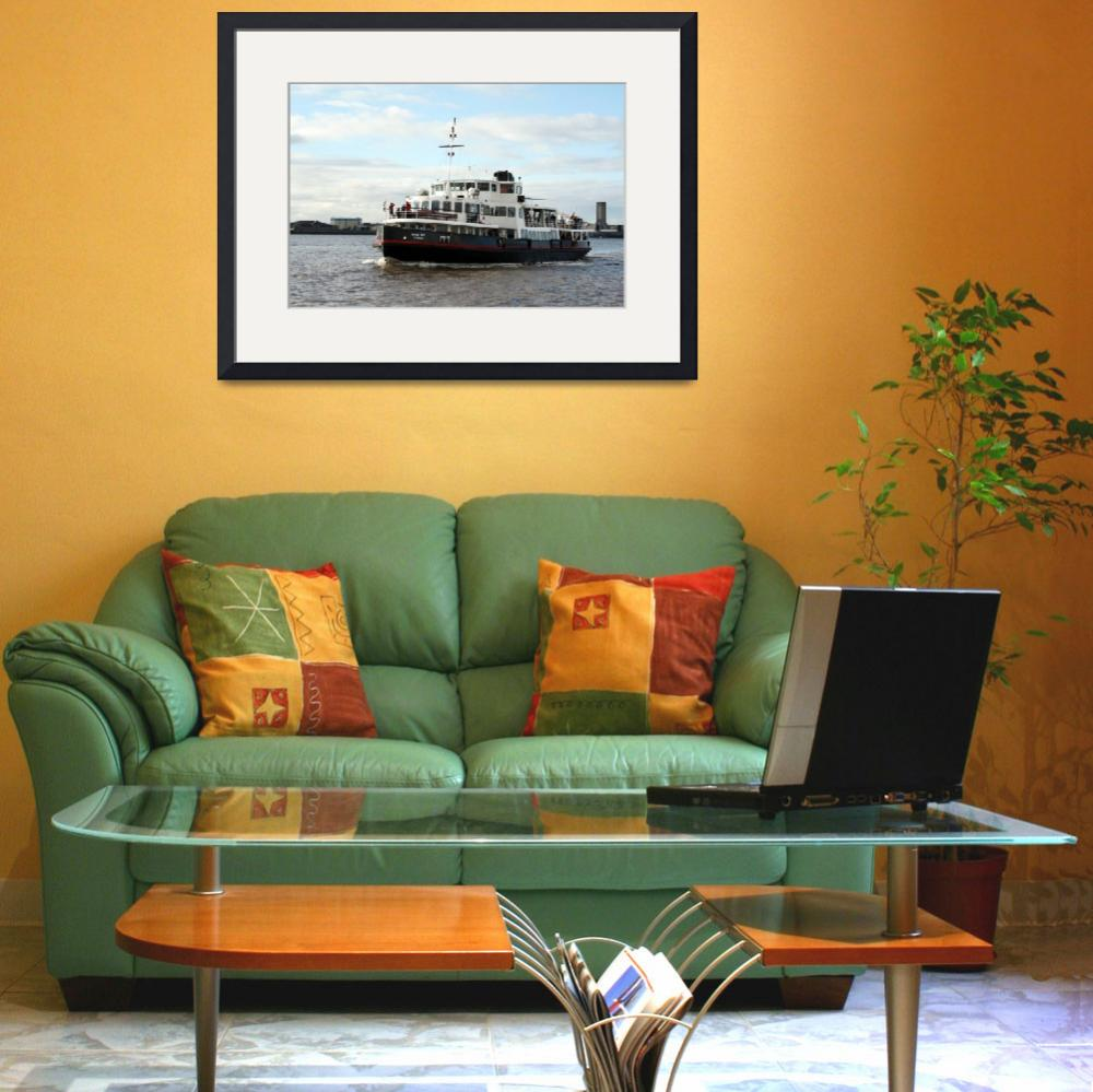 """""""Liverpool - River Mersey Ferry&quot  (2013) by footypix"""