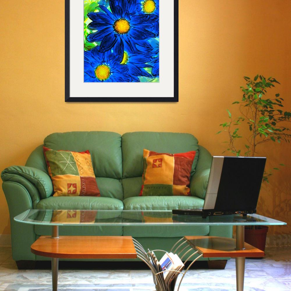 """""""Pop Daisies 15&quot  (2012) by AmyVangsgard"""