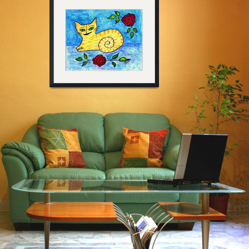 """""""Yellow Kitten""""  (2011) by melsky"""