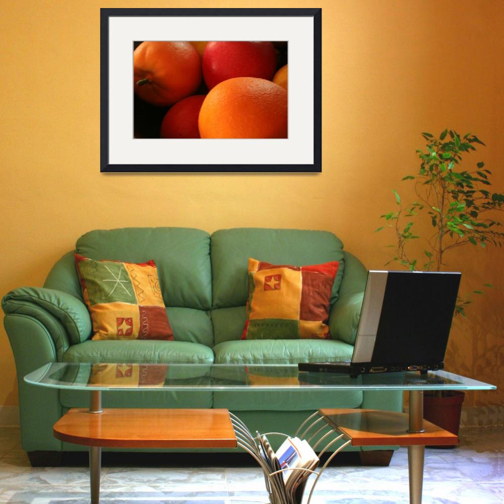 """""""Apples and Oranges&quot  (2010) by patcolephotography"""