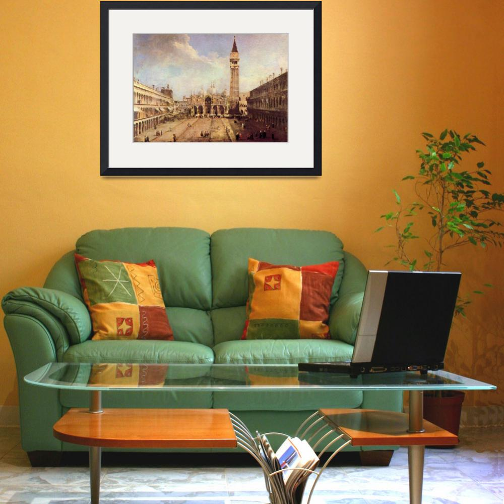 """""""Piazza San Marco by Canaletto""""  by ArtLoversOnline"""