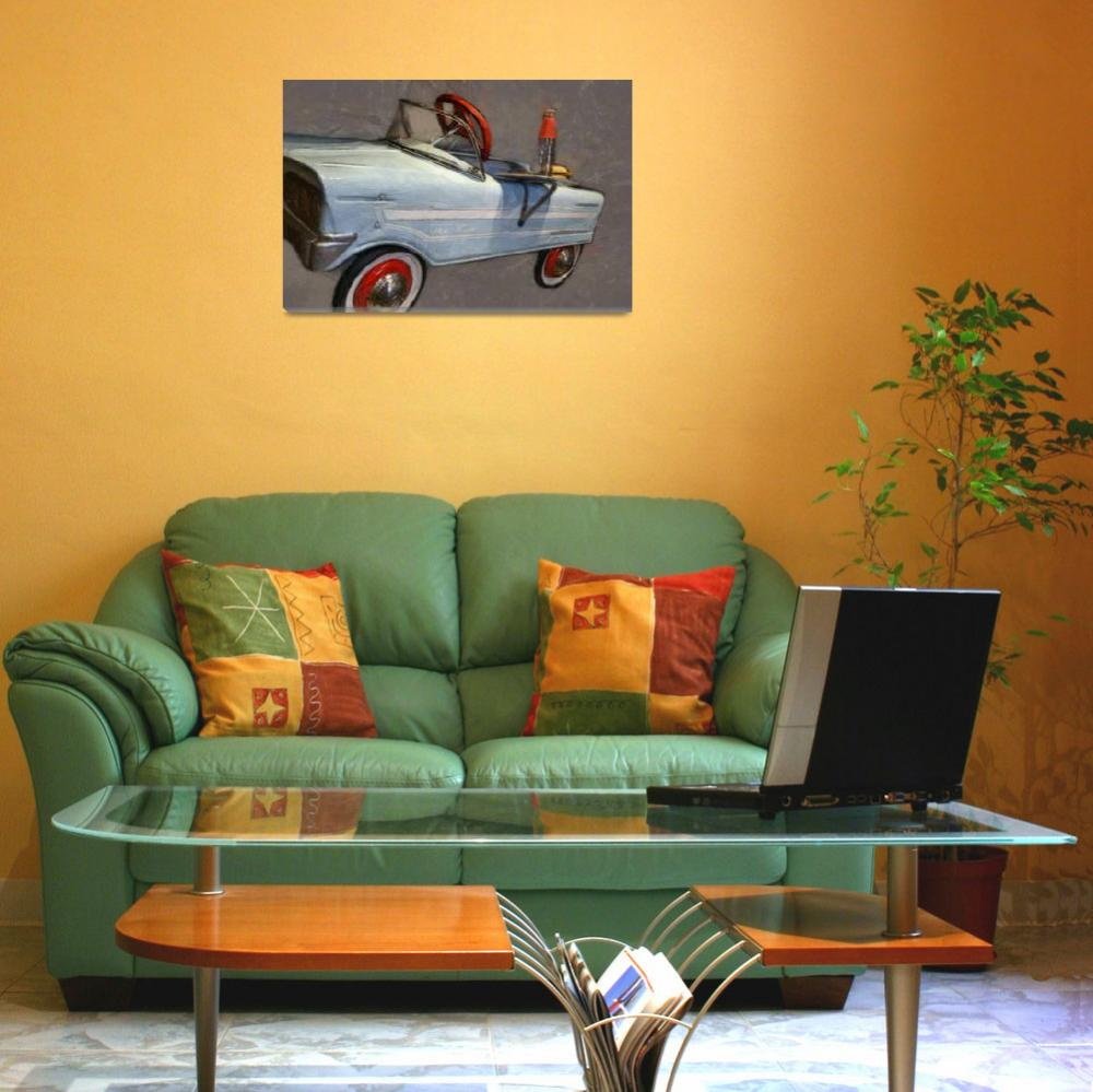 """""""Drive In Pedal Car&quot  (2013) by Michelle1991"""