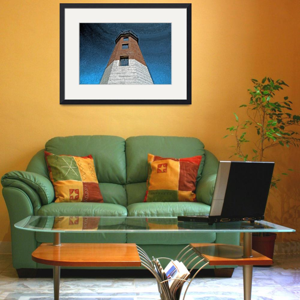 """Point Judith Light (Pastel)""  (2009) by jkphotos"
