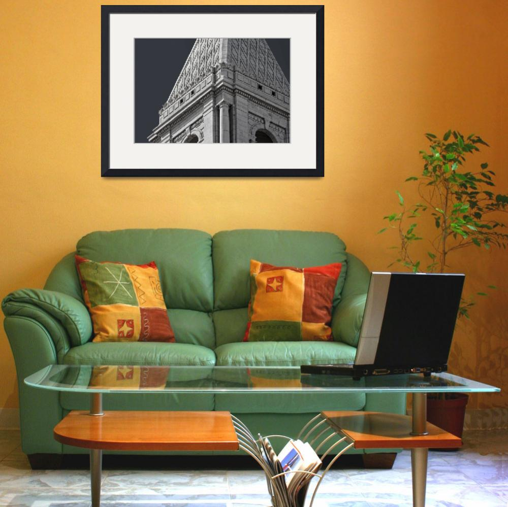 """""""Travelers Tower Summit Hartford Connecticut&quot  (2015) by WilshireImages"""