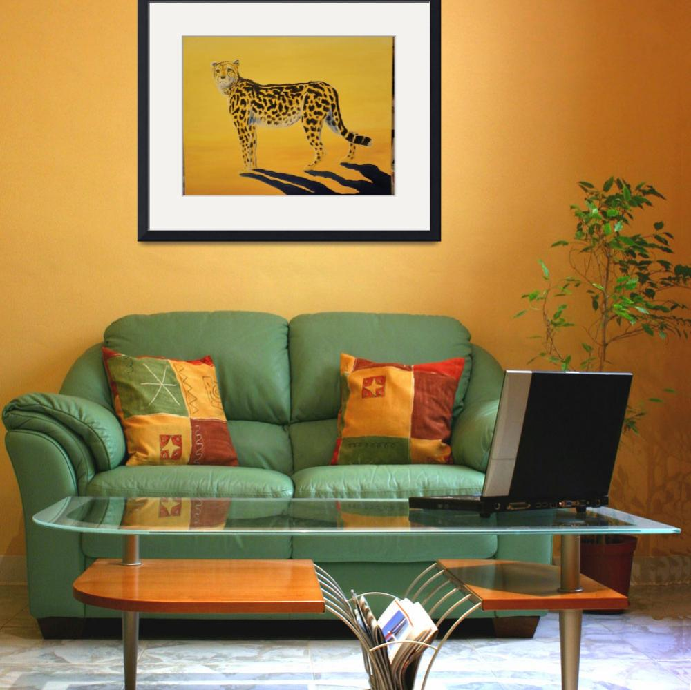 """""""King Cheetah&quot  (2009) by Monzie"""