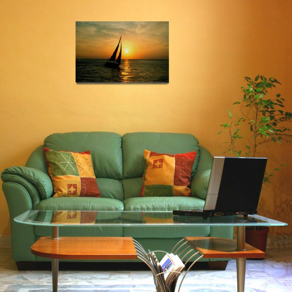 """""""Sunset Sail&quot  (2013) by netbrands"""