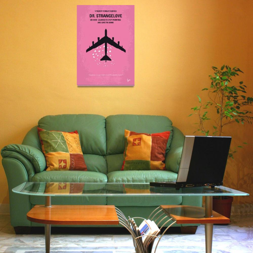 """No025 My Dr Strangelove minimal movie poster""  by Chungkong"