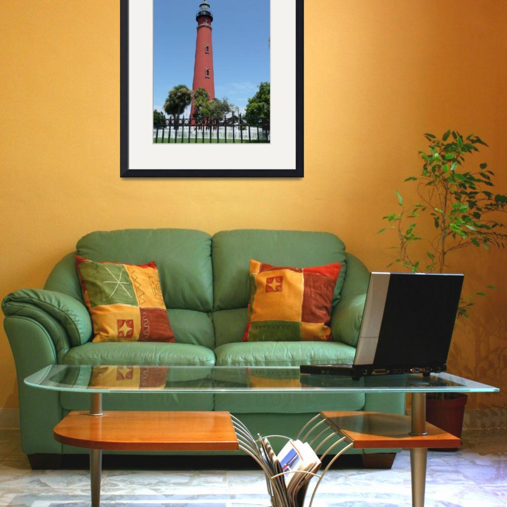 """Lighthouse At Ponce Inlet, FLA 03&quot  (2009) by photographybydonna"