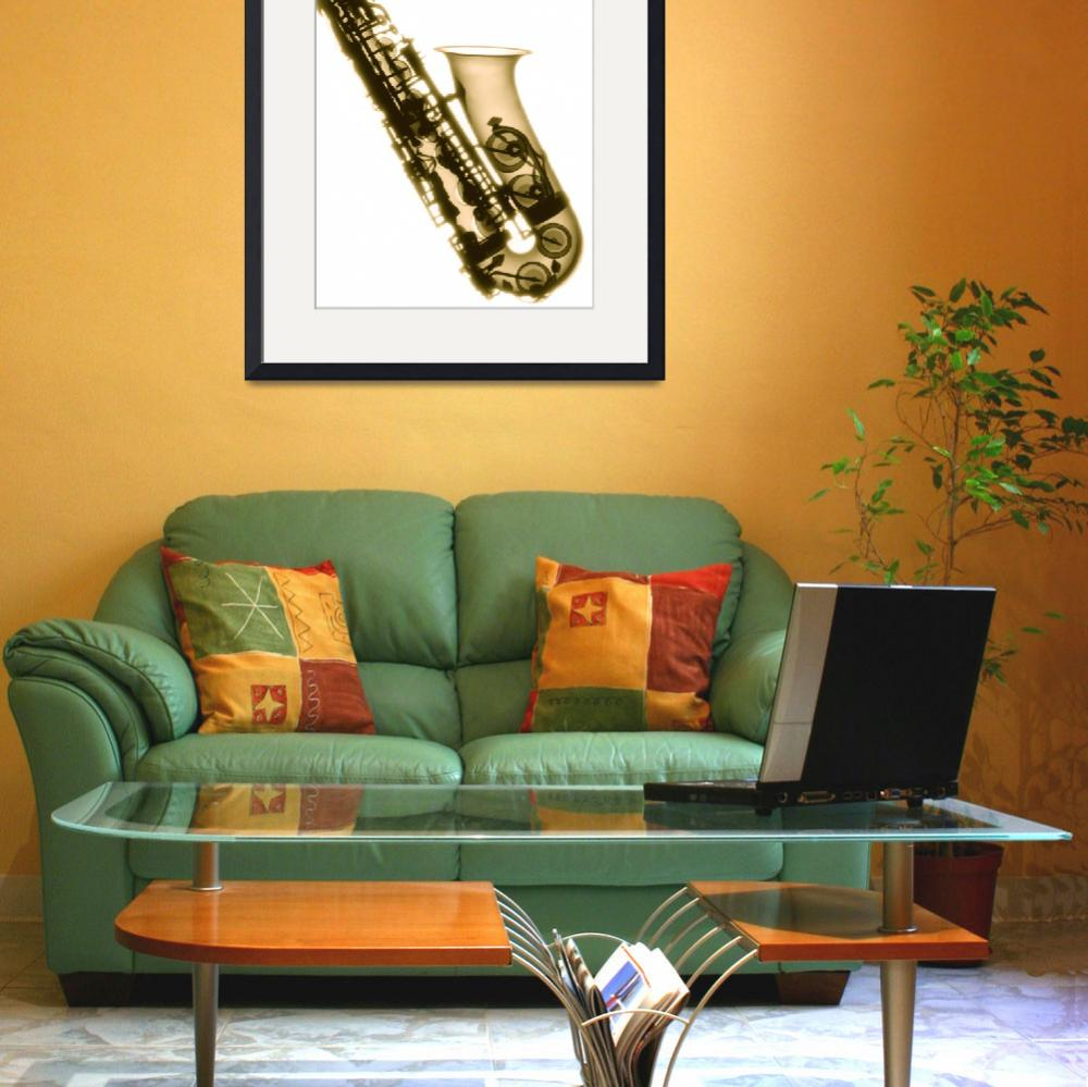 """Saxaphone&quot  (2008) by DennisMash"