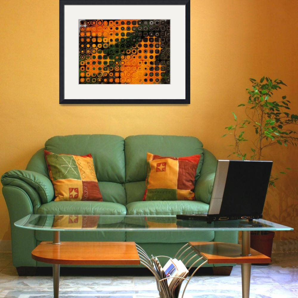 """""""Green and Orange B1&quot  by psovart"""