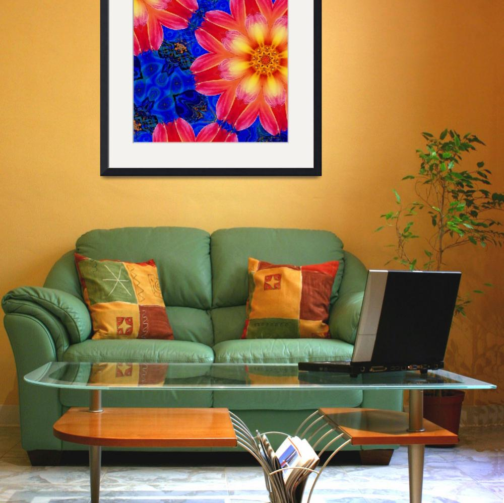 """""""Floral Fantasy 12""""  (2009) by Chicagoartist1"""