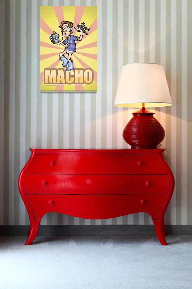 """MACHO&quot  (2008) by O-Abnormal"
