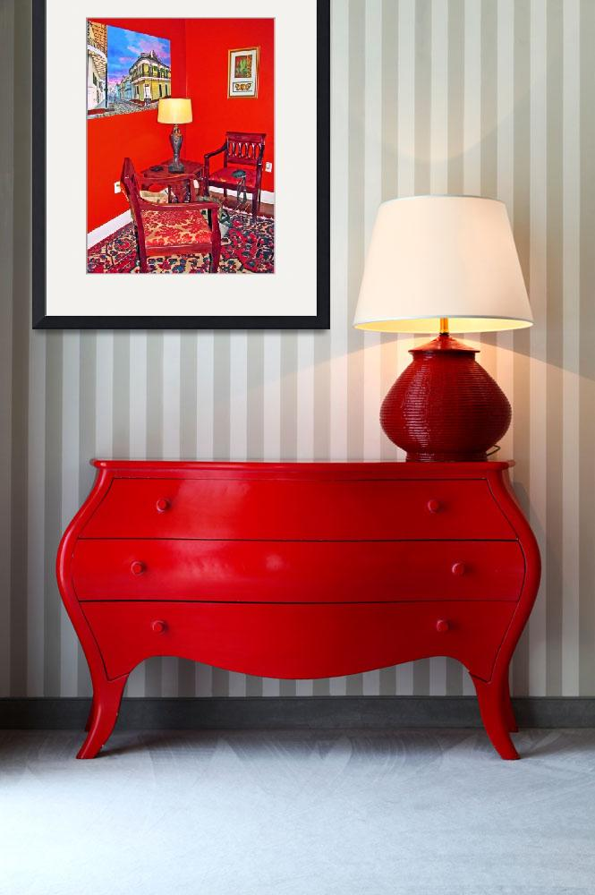 """""""Seating in the Red Room&quot  (2013) by ajc401"""