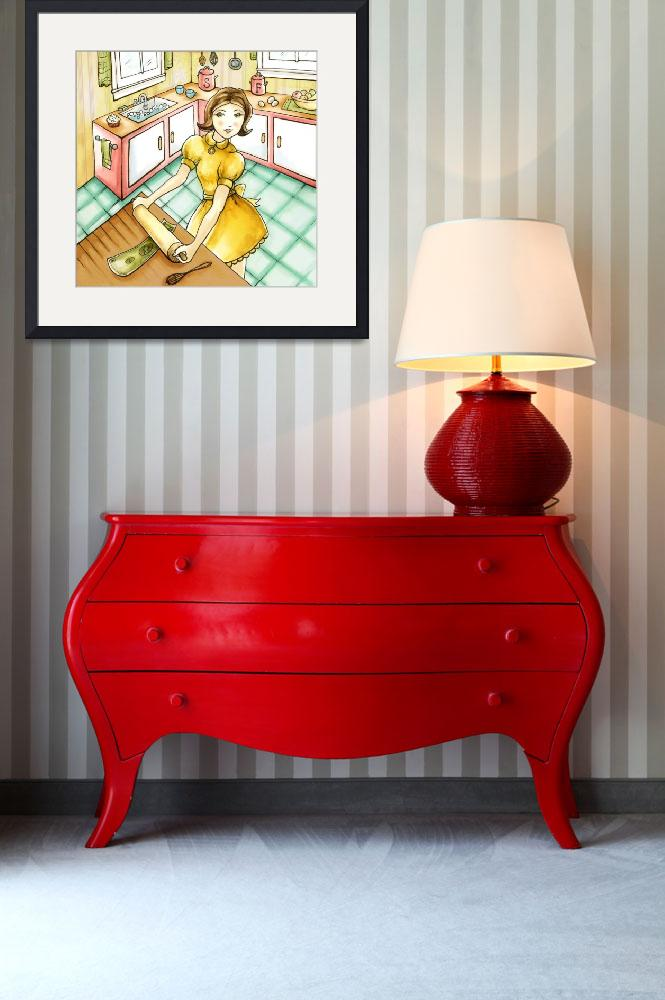 """Stretching Your Dollar&quot  (2009) by CharlaPettingill"