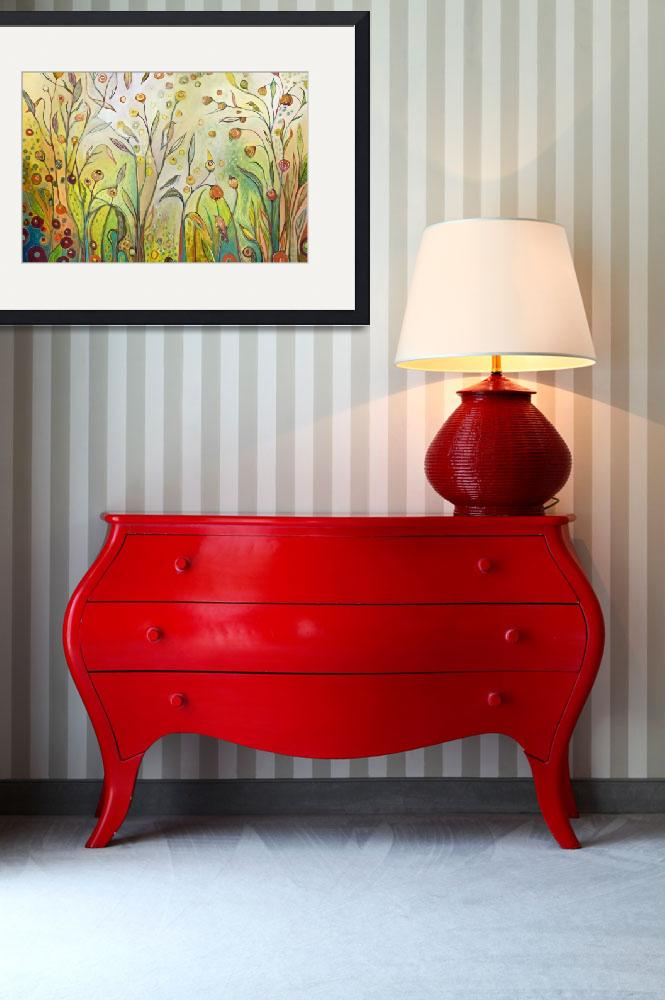 """Welcome To My Garden&quot  (2014) by JENLO"