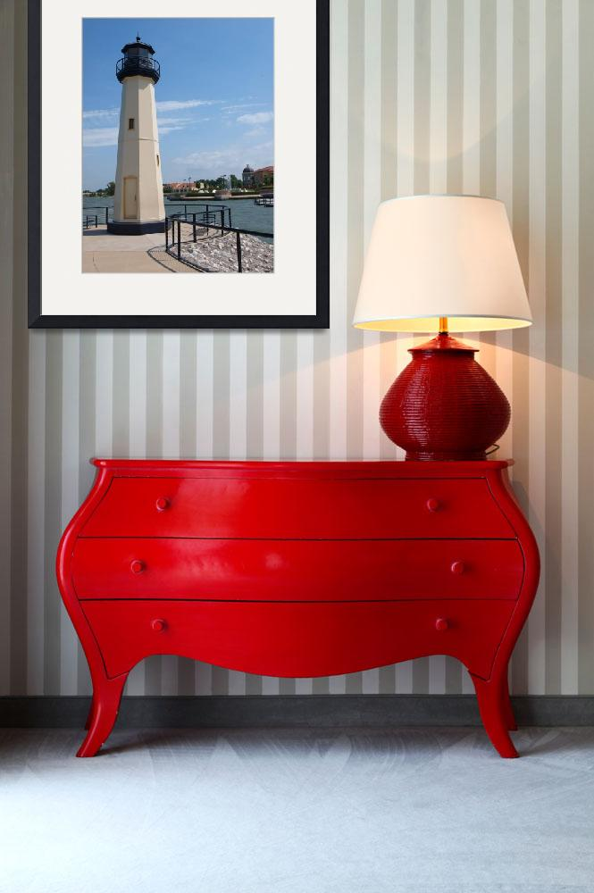 """""""Harbor Light House&quot  (2010) by GlendinePhotography"""