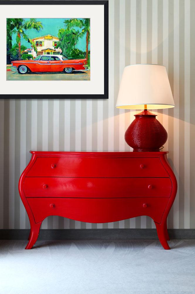 """""""The Red Sled - California Holiday""""  (2007) by RDRiccoboni"""
