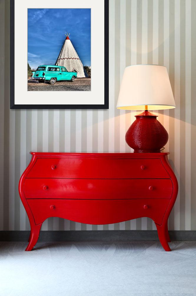 """Wigwam Motel in Holbrook""  (2009) by BeautifullyScene"