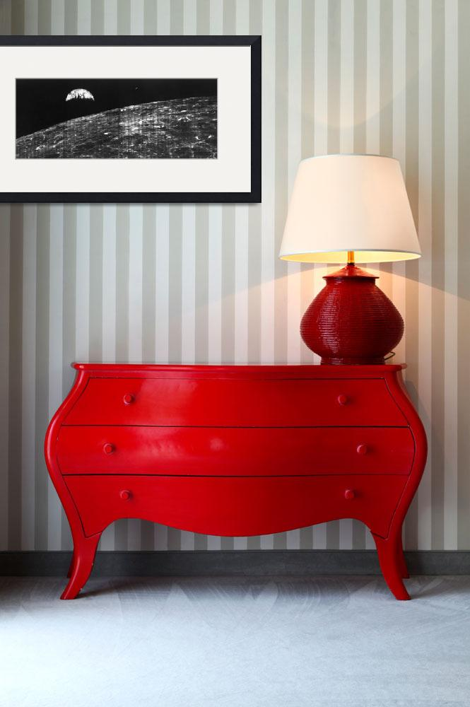 """First View of Earth from Moon""  by postpainting"