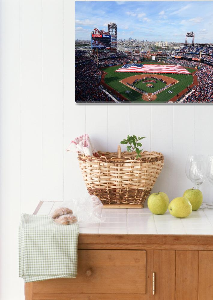"""""""Citizens Bank Park - Opening Day&quot  (2014) by christiancarollo"""