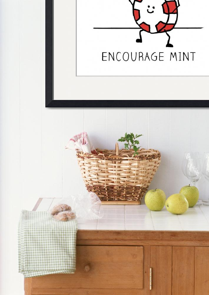 """""""Encourage Mint You Can Do It&quot  (2019) by InstantCheer"""