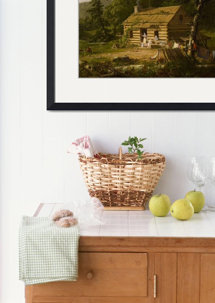 """Thomas Cole Art Framed Print&quot  by buddakats1"