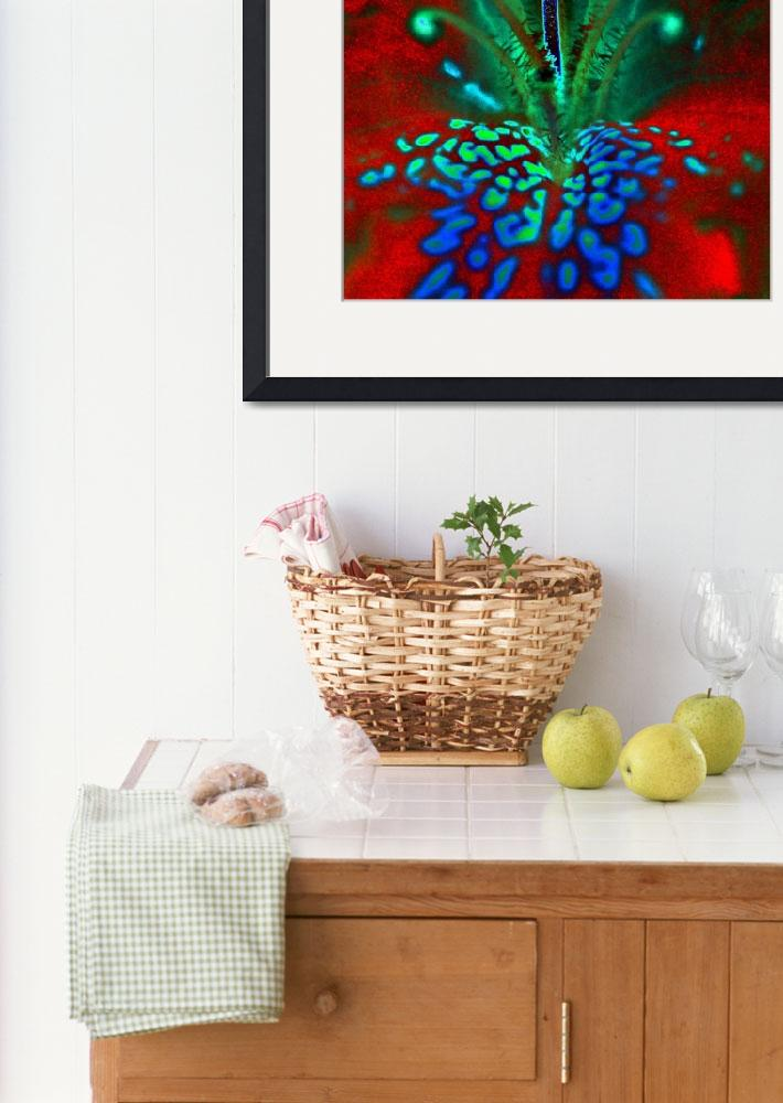 """""""Neon Rhododendron&quot  (2009) by bavosiphotoart"""