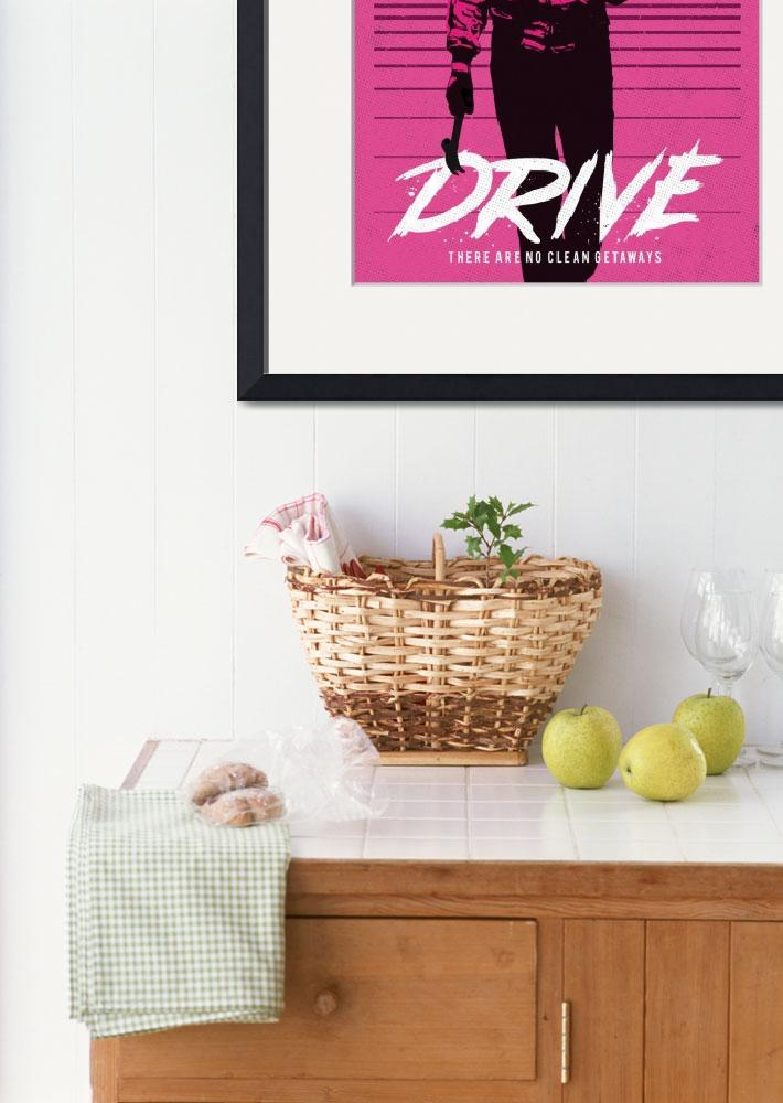 """""""Alternative drive movie poster&quot  (2017) by goldenplanetprints"""
