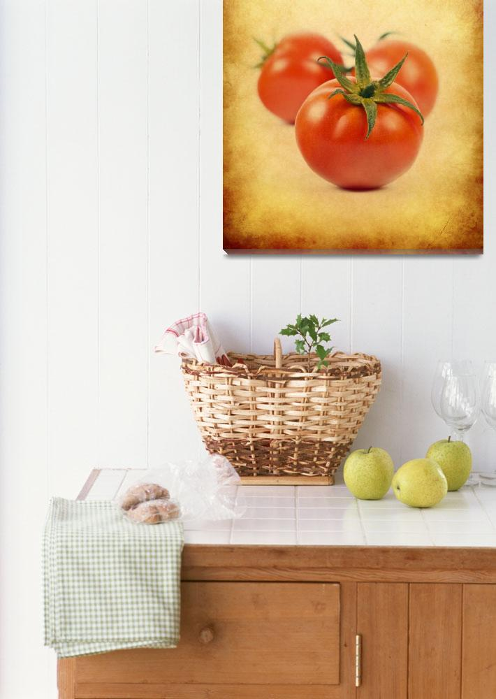 """""""Red Tomato&quot  (2013) by kingstars11"""