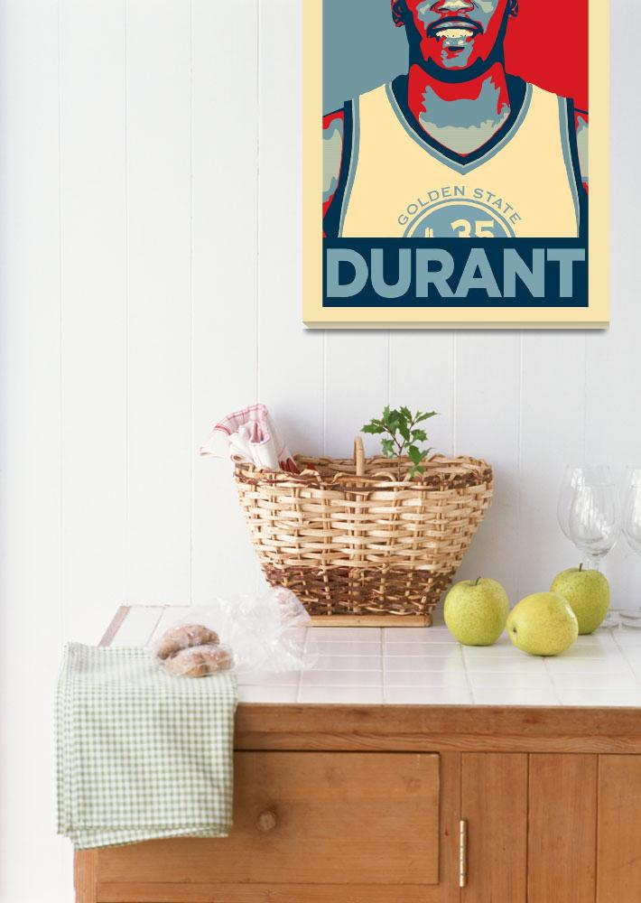 """""""Kevin Durant&quot  (2018) by taylansoyturk"""