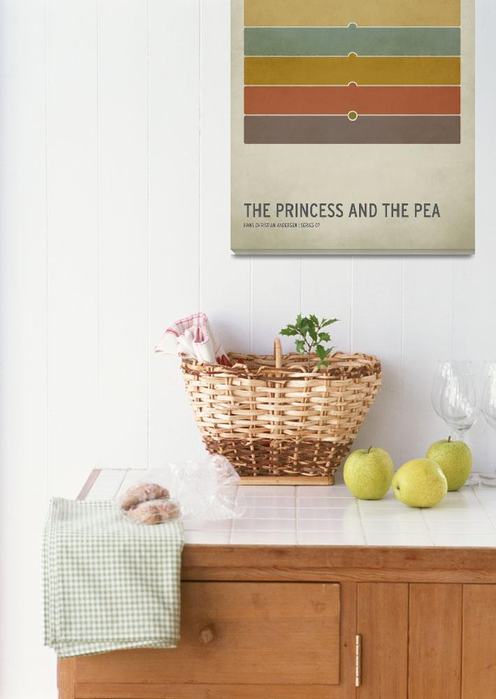 """""""The Princess and the Pea&quot  (2010) by squareinchdesign"""