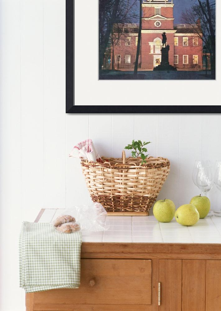 """""""INDEPENDENCE HALL&quot  by homegear"""