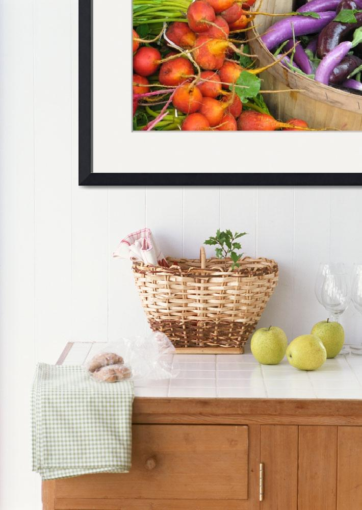 """""""Produce From Vermont Farmers Market&quot  (2011) by eyecaptures"""