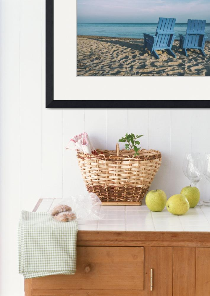"""""""Beach Photo Framed Print&quot  by LifeHack"""