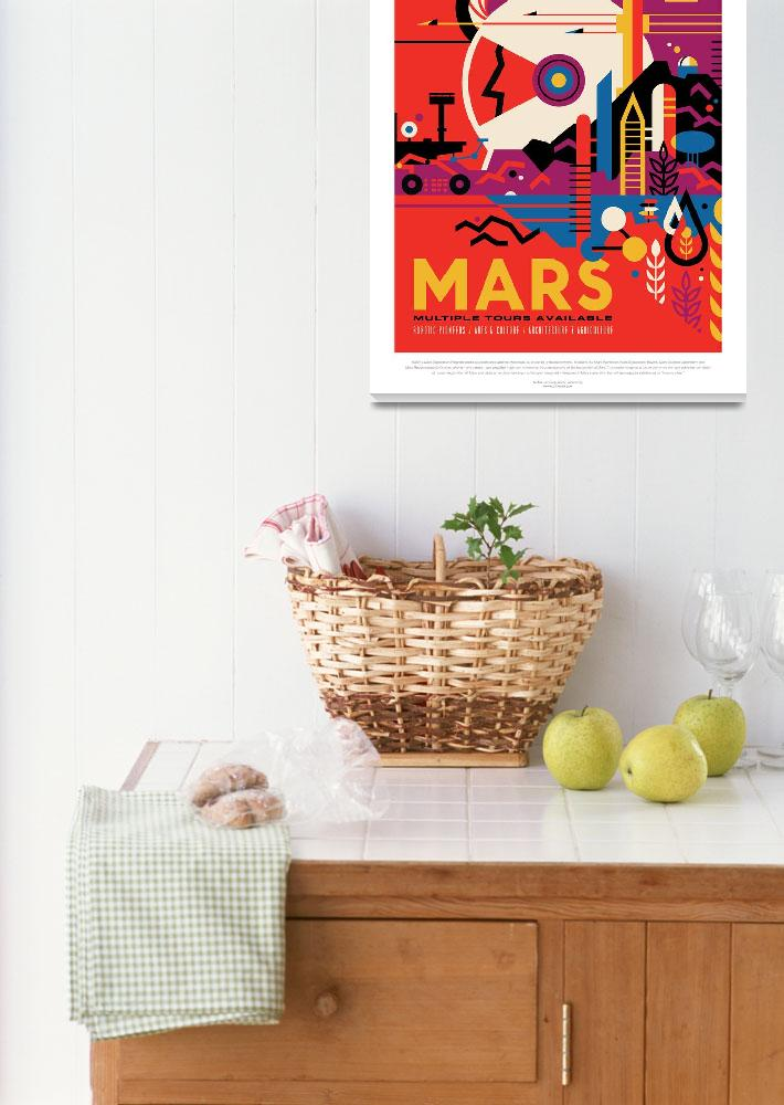 """""""Visit the Historic Sites of MARS&quot  by jms00"""