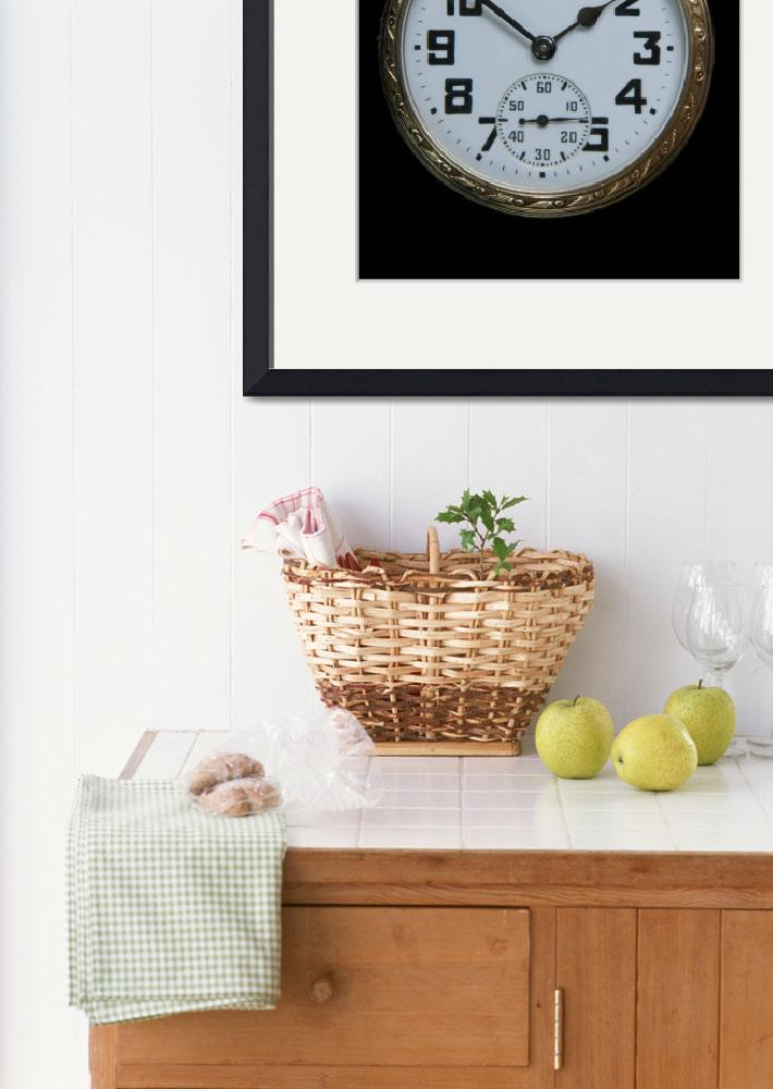 """""""Vintage Gold Pocket Watch&quot  (2009) by ImageArt-Photography"""