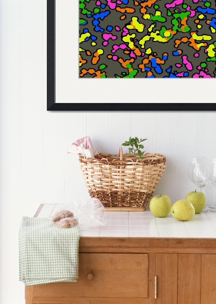 """""""Colorful Blobs&quot  by Surreal77"""
