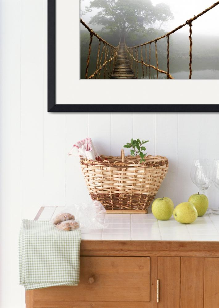 """Long Rope Bridge&quot  (2005) by SkipNall"