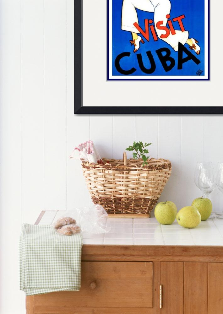 """Cuba Vintage Travel Poster (2)&quot  by shanmaree"