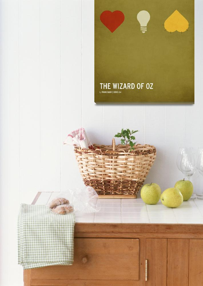 """The Wizard of Oz""  (2010) by squareinchdesign"