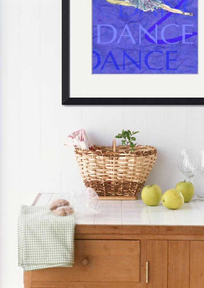 """""""Dance Poster 3""""  (2004) by CrystalCarey"""