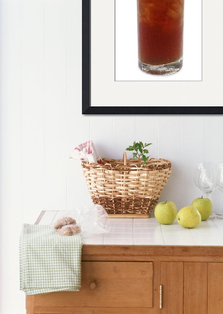 """""""A Glass of Iced Tea""""  by Alleycatshirts"""